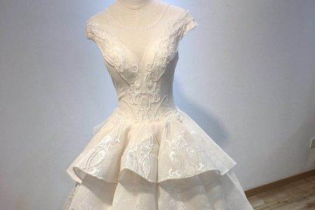 兩件式蓬裙婚紗