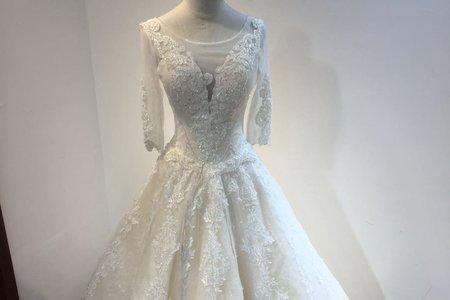 超氣派法式婚紗
