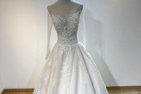 法式超仙赫本婚紗