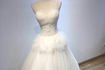 甜美系多層次婚紗