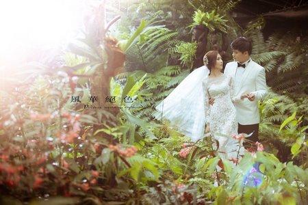 ❤️浪漫唯美~客照分享-風華絕色婚紗攝影