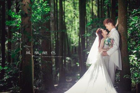 ❤️7月最新客照分享-風華絕色婚紗攝影