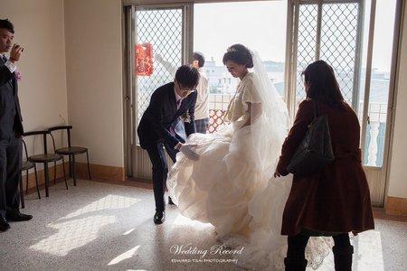 婚攝|台中|迎娶&午宴|非常棧