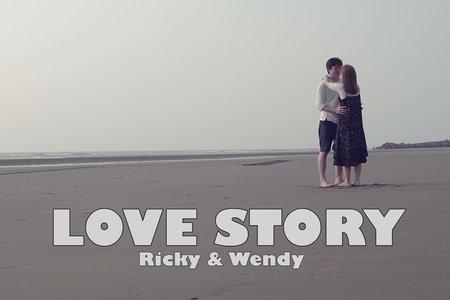 愛情故事錄影截圖
