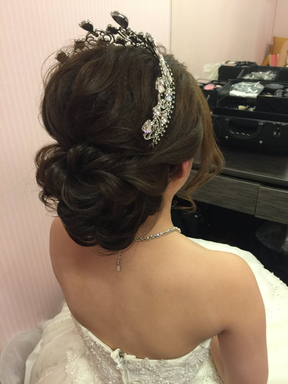 和霖stylist婚禮造型,107/03/22一整天的新娘秘書和霖老師 ❤