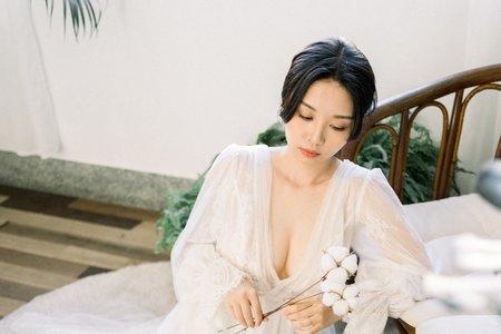 美式新娘造型
