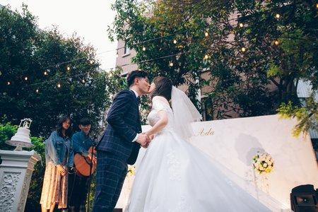 Kai&Ada 戶外證婚美式婚禮