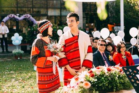 賽德克族戶外證婚