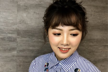 韓系風格妝髮