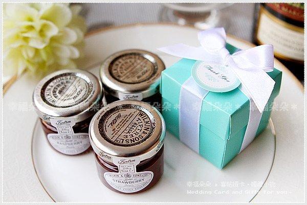 Tiffany盒英國小果醬作品