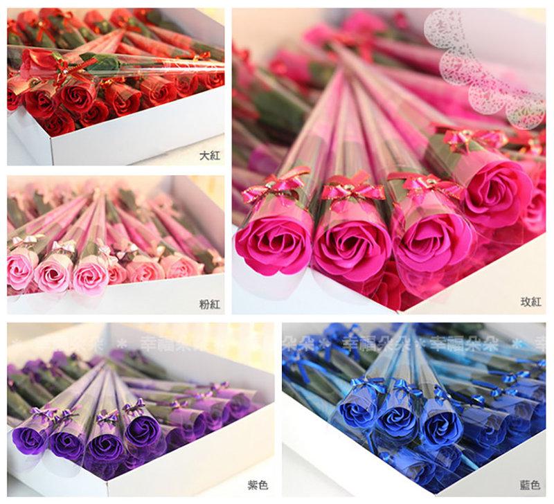 香皂玫瑰花(有包裝)