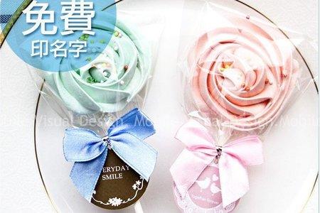 玫瑰糖霜餅(滿百份免費印名字)
