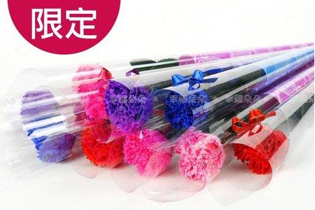 康乃馨香皂花(有包裝)
