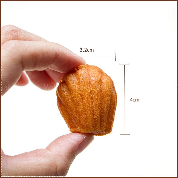 12小時熟成法國甜點★金喜蜂蜜迷你瑪德蓮