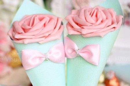 位上禮 迎賓禮 桌上禮 佈置 婚禮小物 幸福朵朵