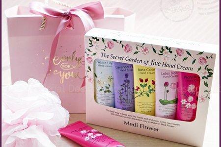 😊 韓國 Medi Flower秘密花園護手霜 閏蜜禮 位上禮 迎賓禮 抽獎禮 遊戲禮 伴郎伴娘禮 幸福朵朵 婚禮小物 😊