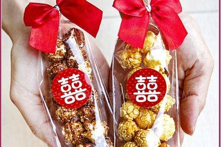 婚禮魔球爆米花 / 焦糖與巧克力 / 二次進場 / 囍氣滿滿