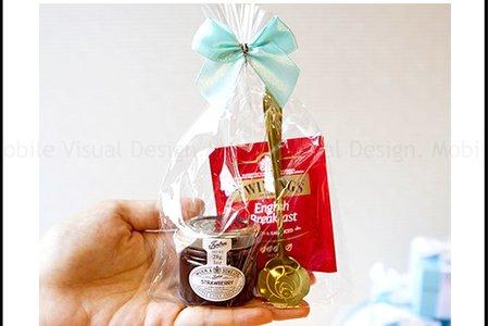 唐寧英倫茶包+英國果醬+玫瑰湯匙禮物包