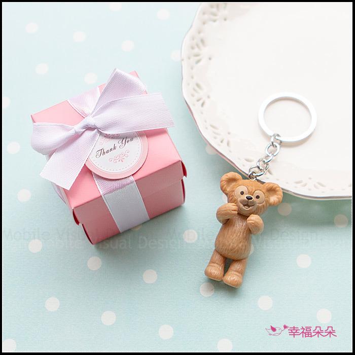 K盒 達菲雪莉玫史黛拉兔鑰匙圈-不挑款