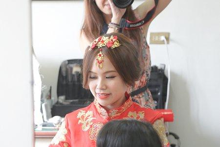 Bride │ 七七--中式婚禮