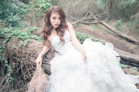 玩美嫁衣-森林寫真:泡泡的森林創作