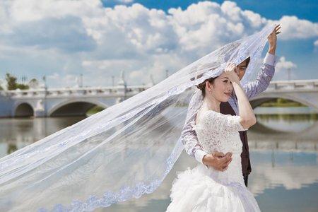 玩美嫁衣-情侶時尚藝術寫真