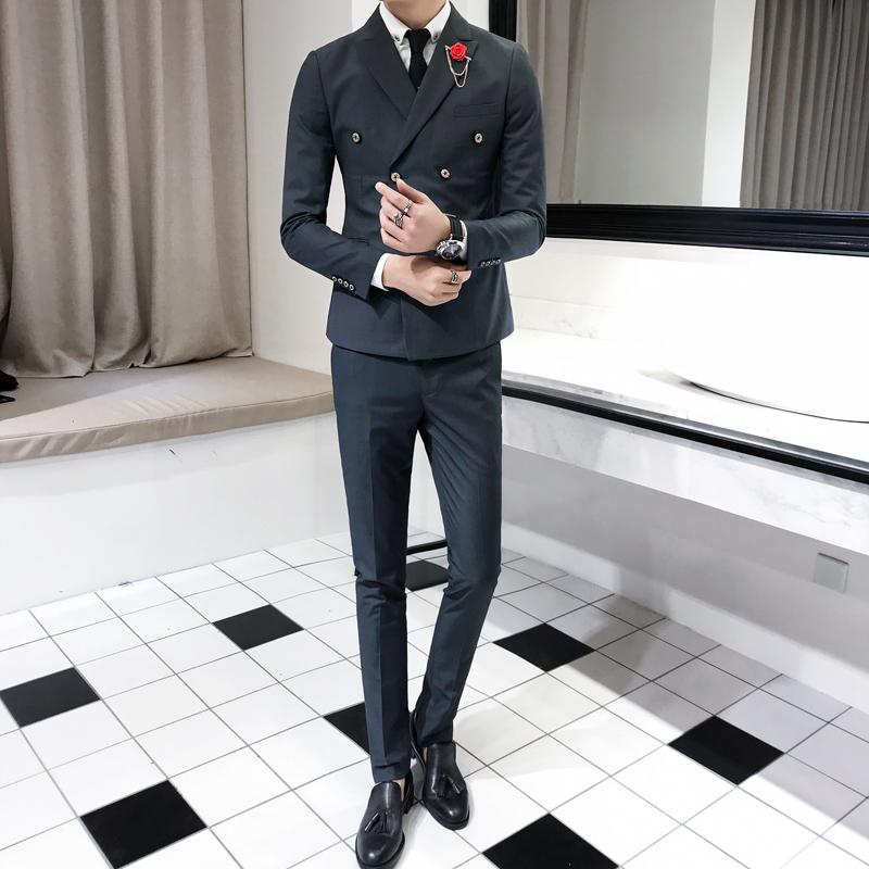 灰色 - 全台最便宜-45DESIGN四五婚紗禮服《結婚吧》