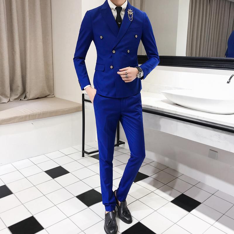 蓝色 - 全台最便宜-45DESIGN四五婚紗禮服《結婚吧》