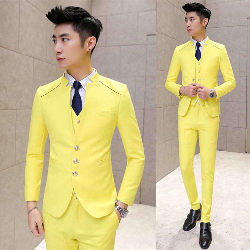 黄色 - 全台最便宜-45DESIGN四五婚紗禮服《結婚吧》