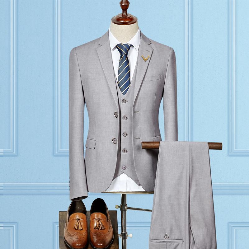 浅灰色 - 全台最便宜-45DESIGN四五婚紗禮服《結婚吧》
