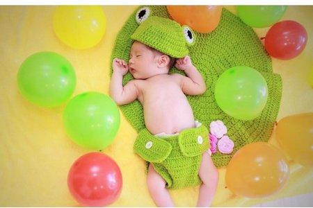 我的寶貝 新生兒寫真
