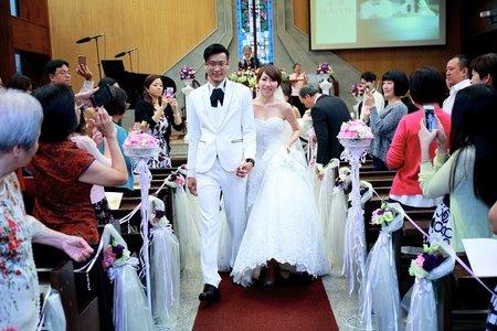 婚禮攝影-教堂
