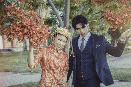 中式 婚紗照