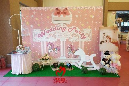 夢幻婚禮佈置