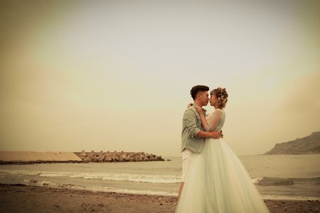 自然風 邊走邊玩 拍婚紗