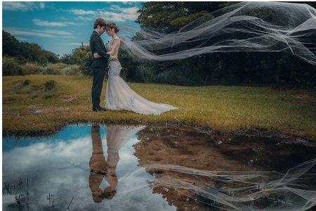 婚紗照造型整體 打造完美視覺效果