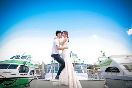 墾丁遊艇婚紗