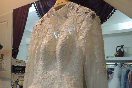 現貨-店面實品拍攝 婚紗禮服