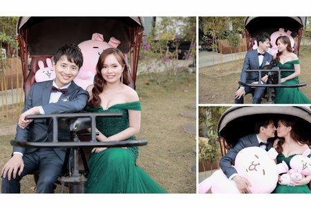 婚禮記錄 -相本製作1201