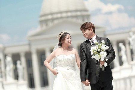 結婚 照 -