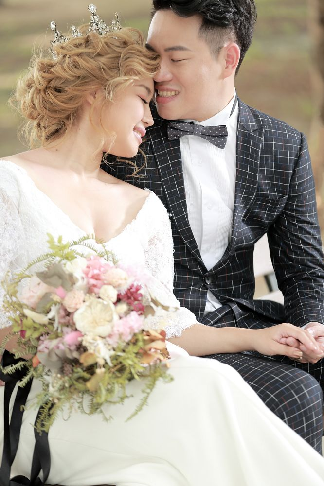 BoBo0244- - 全台最便宜-45DESIGN四五婚紗禮服《結婚吧》
