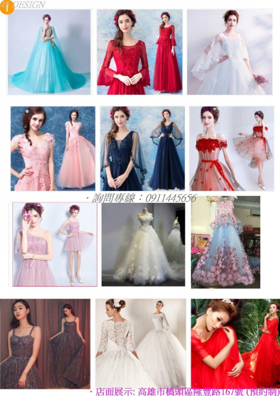 msl19081528A80D47BEEE472BBD406AA7F0510934 - 全台最便宜-45DESIGN四五婚紗禮服《結婚吧》