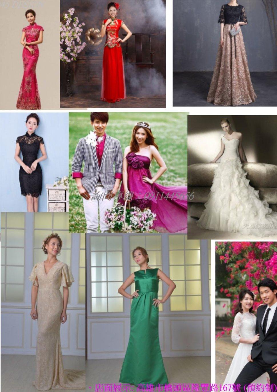 msl19081573B1CB895A94434DA5F957B6F98BB96E - 全台最便宜-45DESIGN四五婚紗禮服《結婚吧》