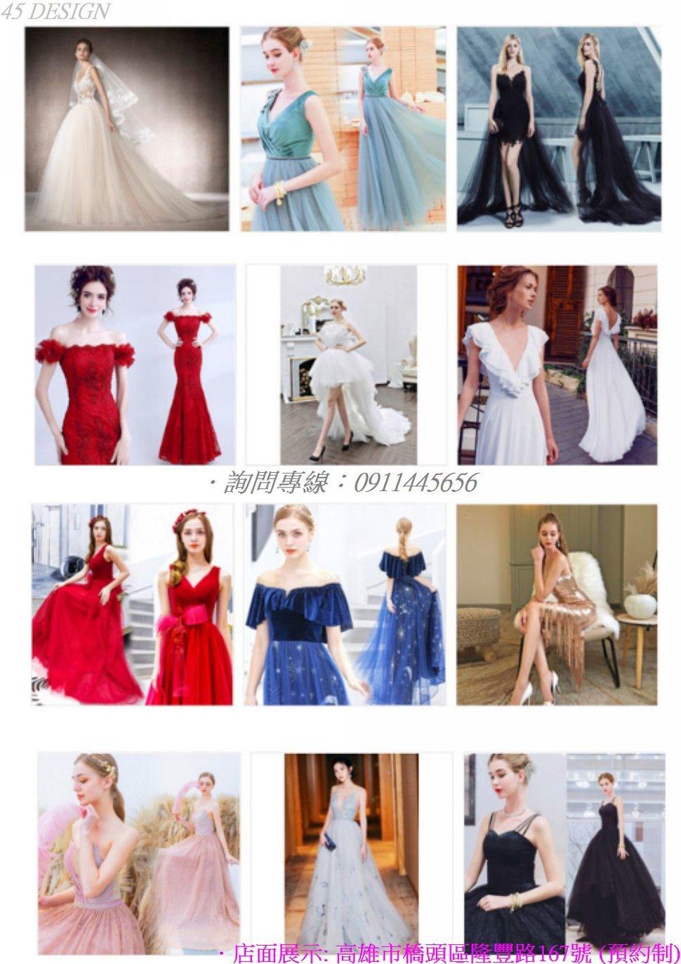 msl19081575CB0081B73743F097EEB7C1569CC8CA - 全台最便宜-45DESIGN四五婚紗禮服《結婚吧》