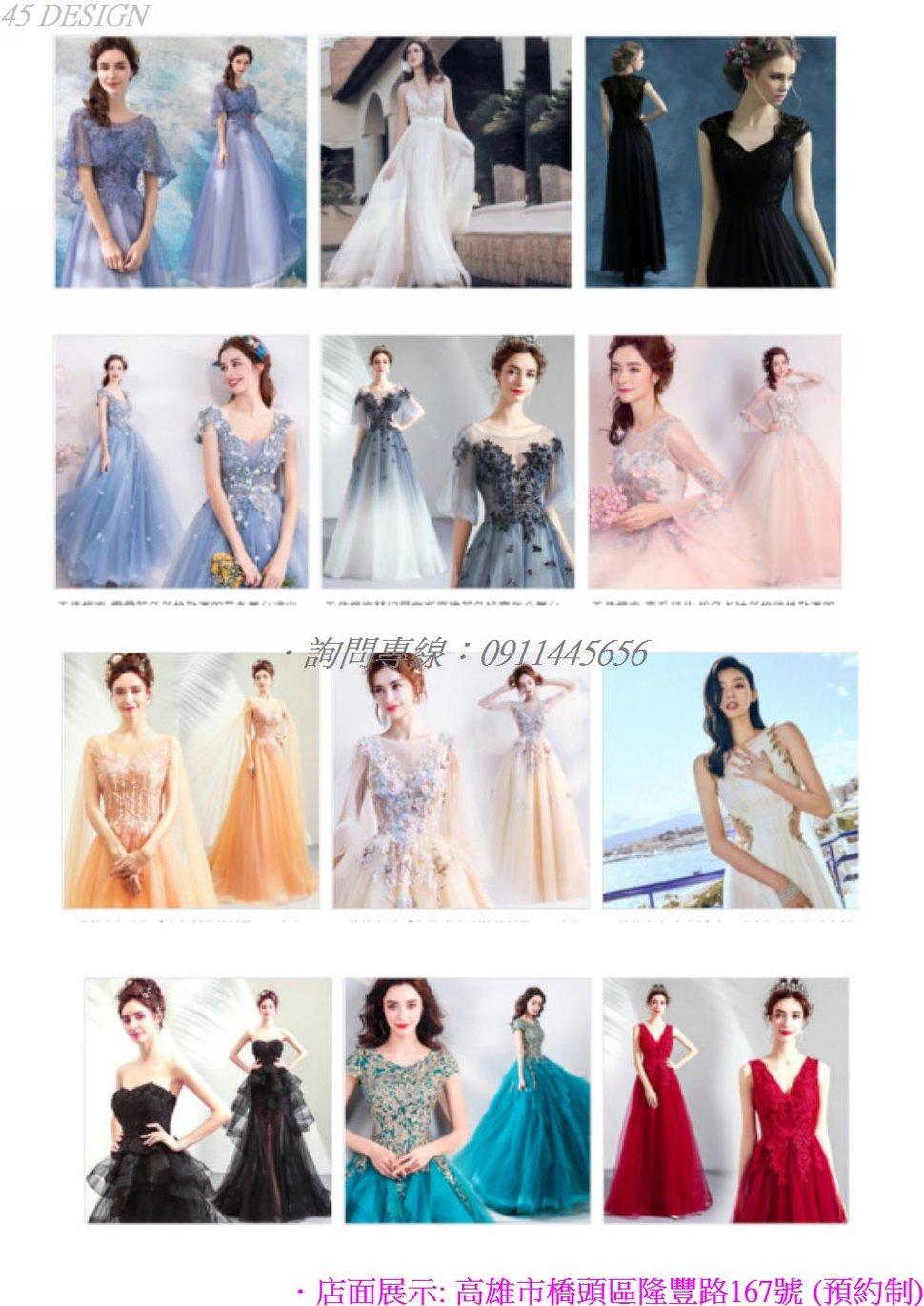 msl19081539396AC3CD2A46F5B2FE62051A8BCE25 - 全台最便宜-45DESIGN四五婚紗禮服《結婚吧》