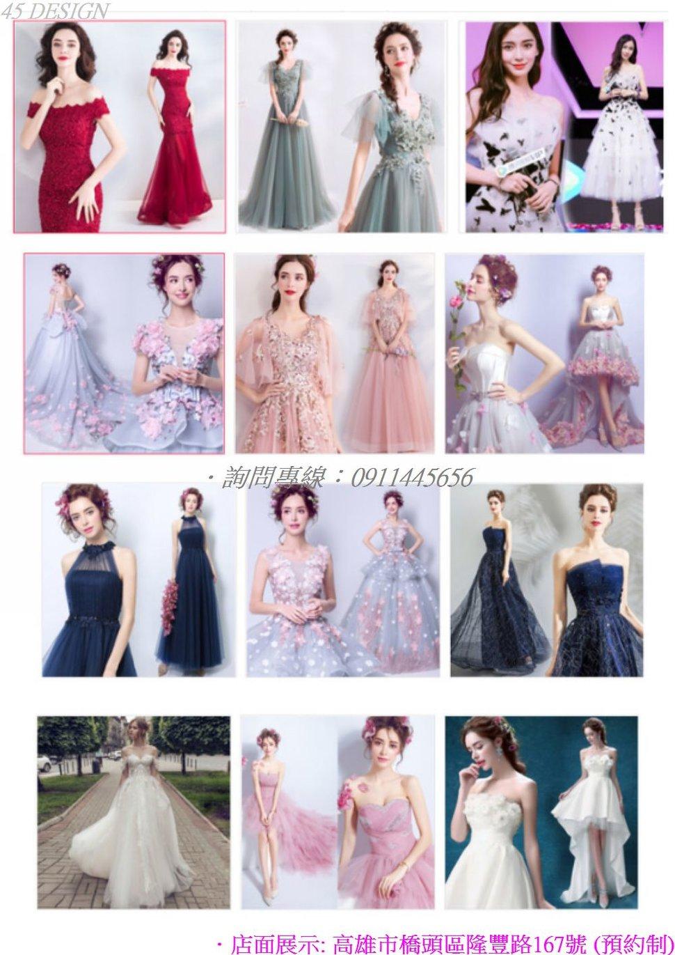 msl190815B37FAC6A46FA4855AD1E47239158930C - 全台最便宜-45DESIGN四五婚紗禮服《結婚吧》