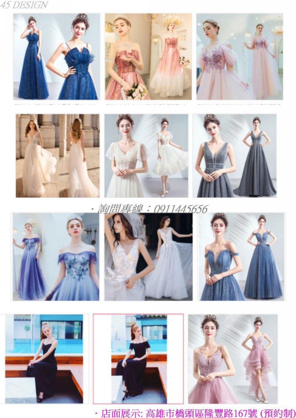 msl1908155CFC1C50F4584D04AF614968BD493B85 - 全台最便宜-45DESIGN四五婚紗禮服《結婚吧》