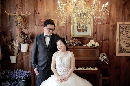高精緻婚紗 純棚拍 -自助婚紗 不外拍