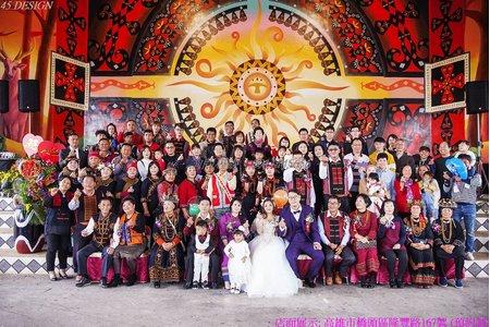 原住民 婚禮記錄-定婚