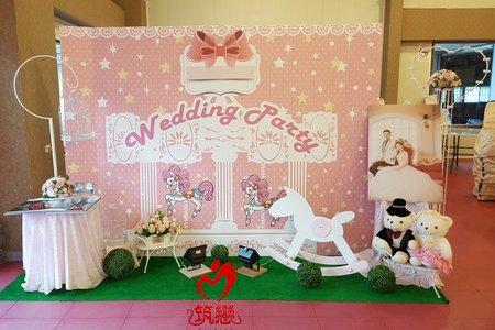 精緻美感的視覺享受!夢幻婚禮佈置